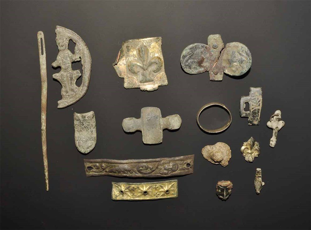 Medieval and Later Gilt-Bronze and Bronze Artefact