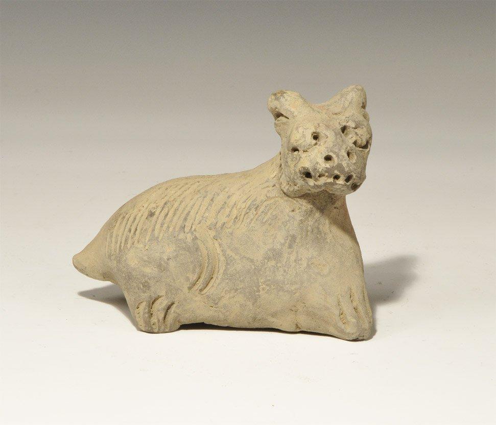 Chinese Ceramic Dog Figurine
