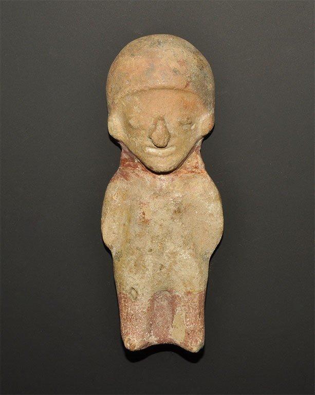 South American Moche Ceramic Figure