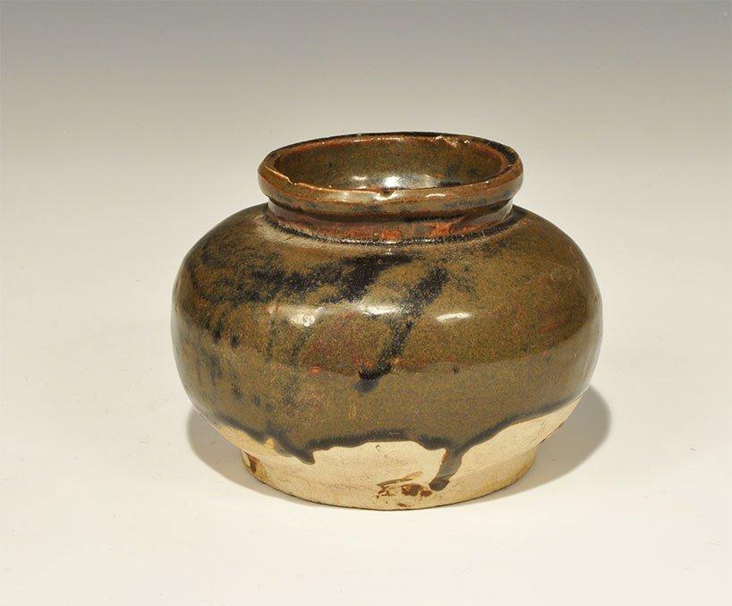 Chinese Ceramic Part-Glazed Shipwreck Bowl