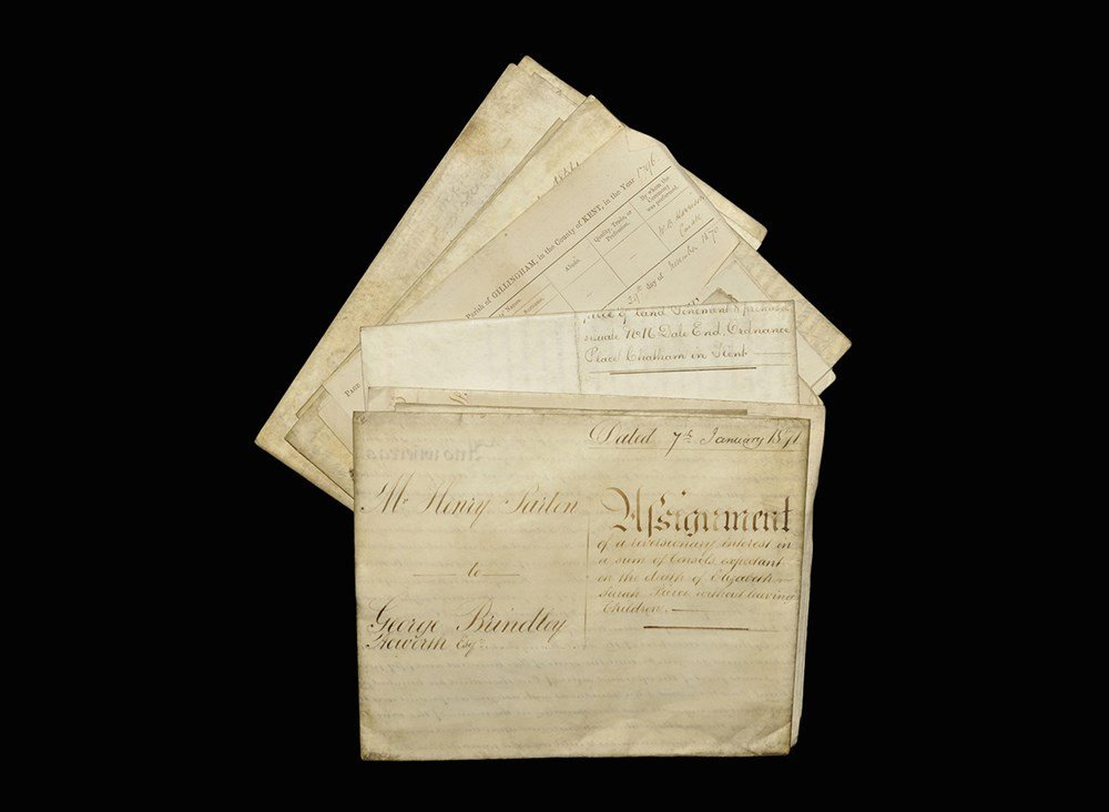Post Medieval 19th century Document Group