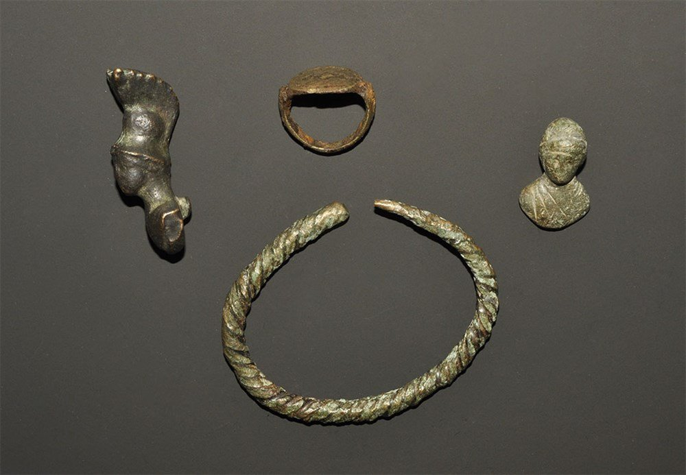 Roman Bronze Artefact Group