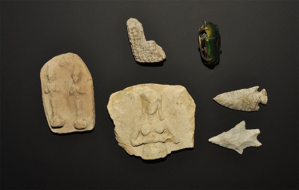 Babylonian and Later Mixed Artefact Collection