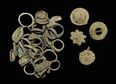 Roman and Later Bronze Ring Group