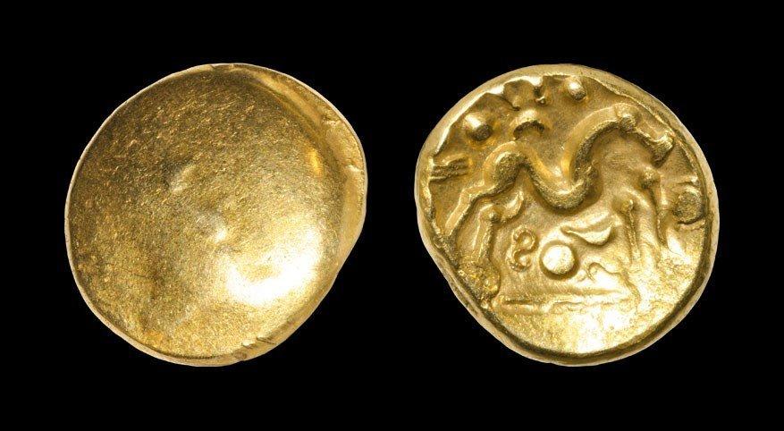 Celtic Iron Age Ambiani - Gallic War - Gallo-Belgic E -