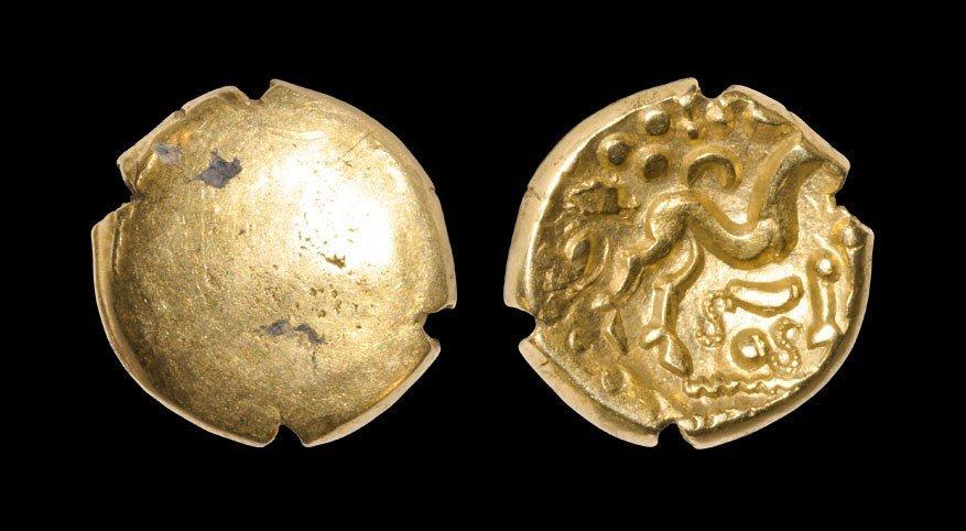 Celtic Iron Age Ambiani - Gallic War - Gallo-Belgic E