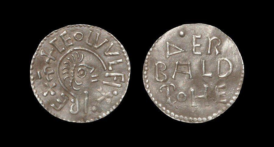 Anglo-Saxon Ceolwulf I - Waerbeald - East Anglia Penny