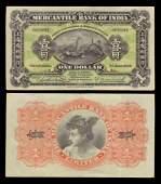 Banknotes China - Mercantile Bank of India Ltd 1924 - 1