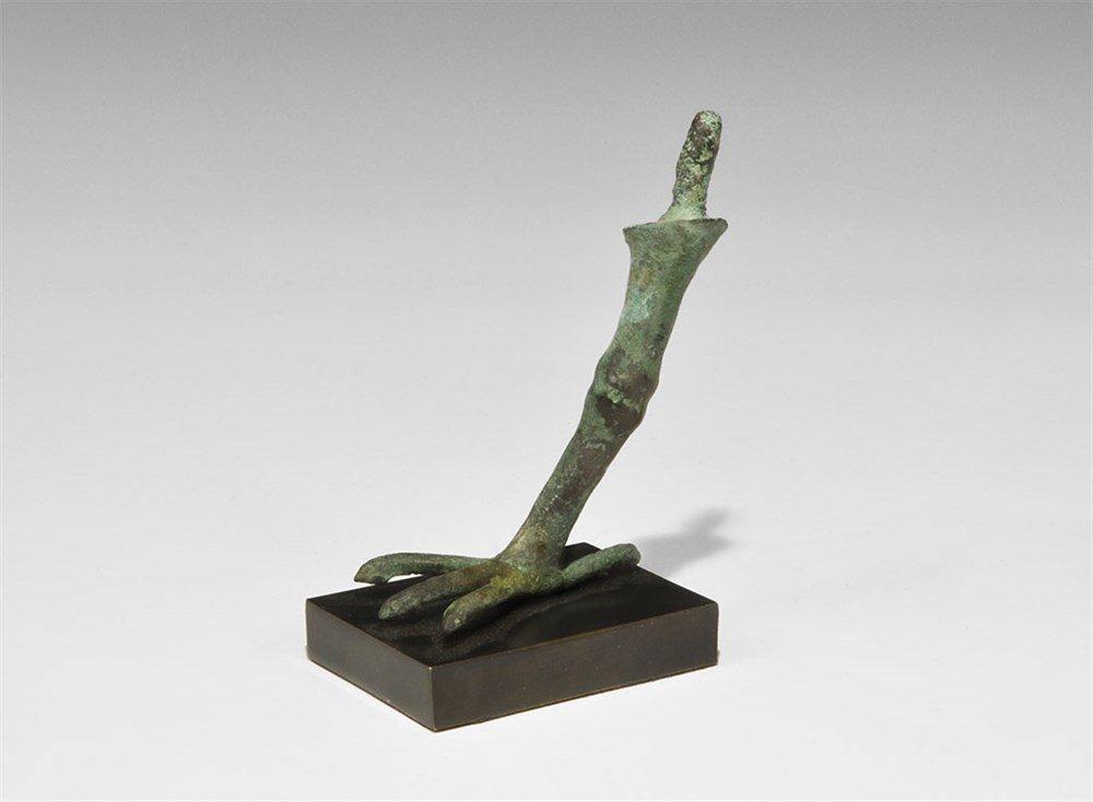 Egyptian Bronze Sacred Ibis Leg