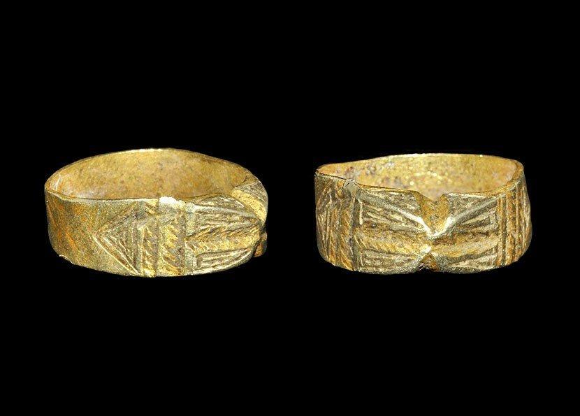 Islamic Moorish Gold Ring