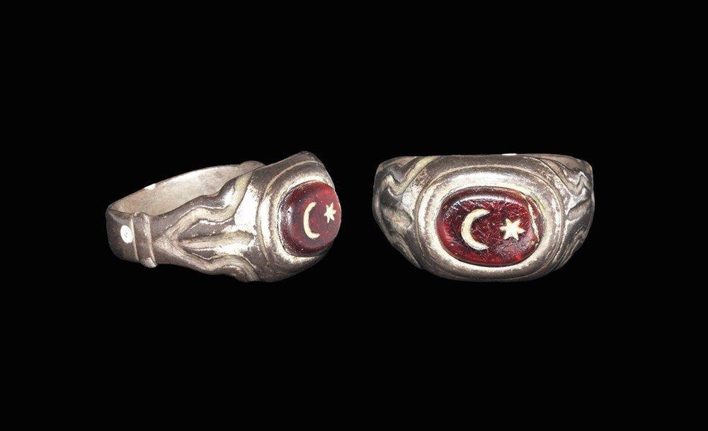 Islamic Ottoman Silver Intaglio Finger Ring