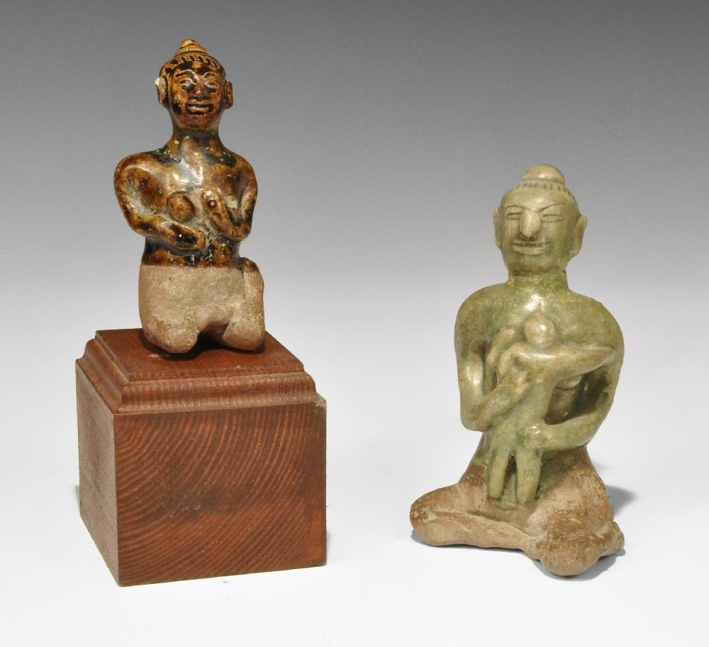Chinese Thai Fertility Figurine Group