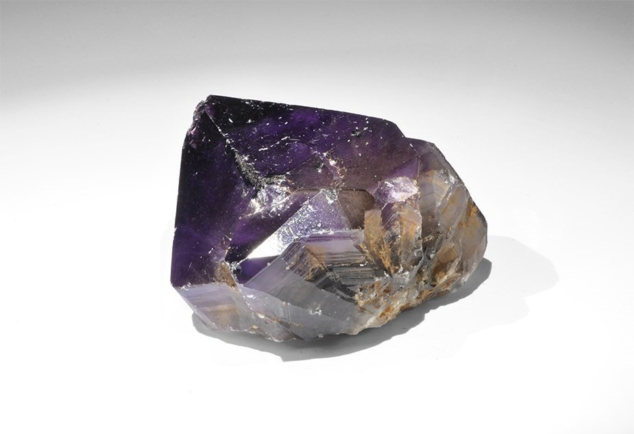 Geological Large Amethyst Crystal