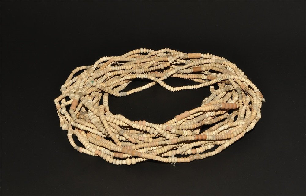 Egyptian Coptic 'Faience' Bead Necklace Group