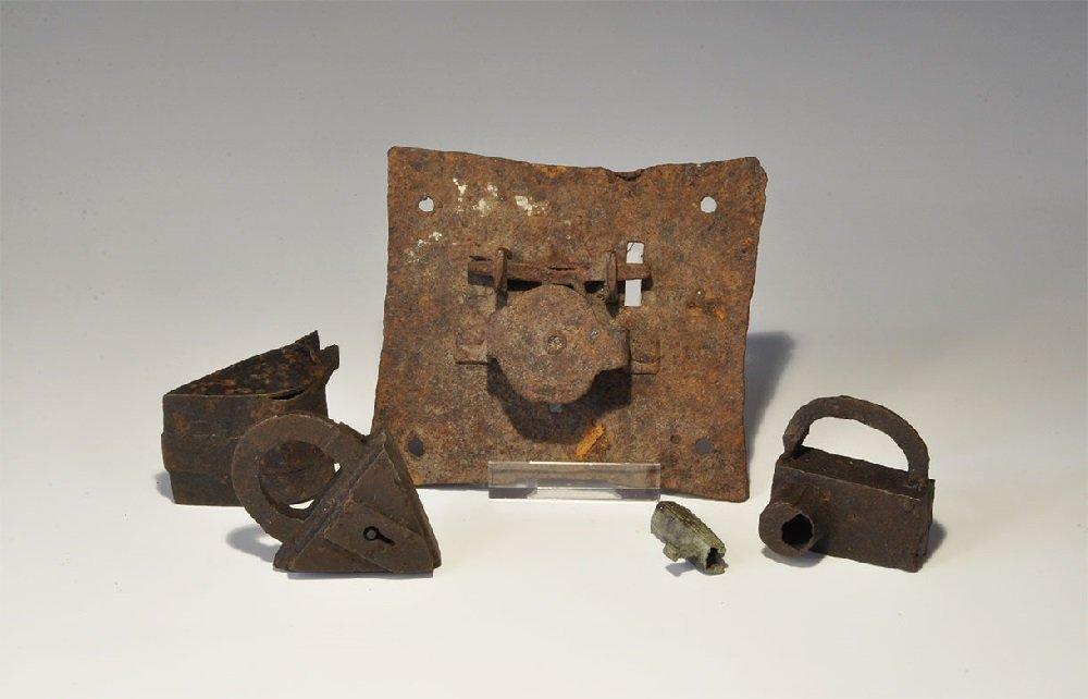 Medieval Iron Lock Group