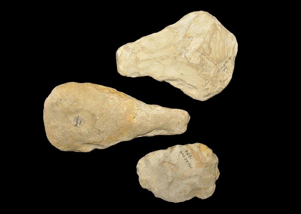 Stone Age Flint Handaxe Group