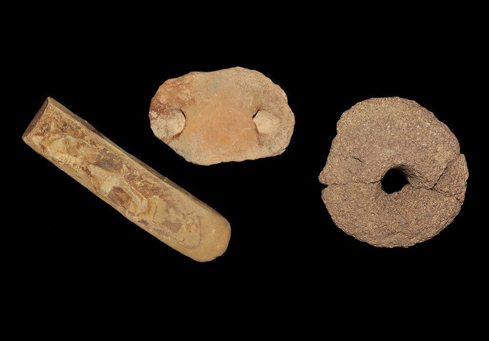 Stone Age Saharan Stone Polished Chisel and Other