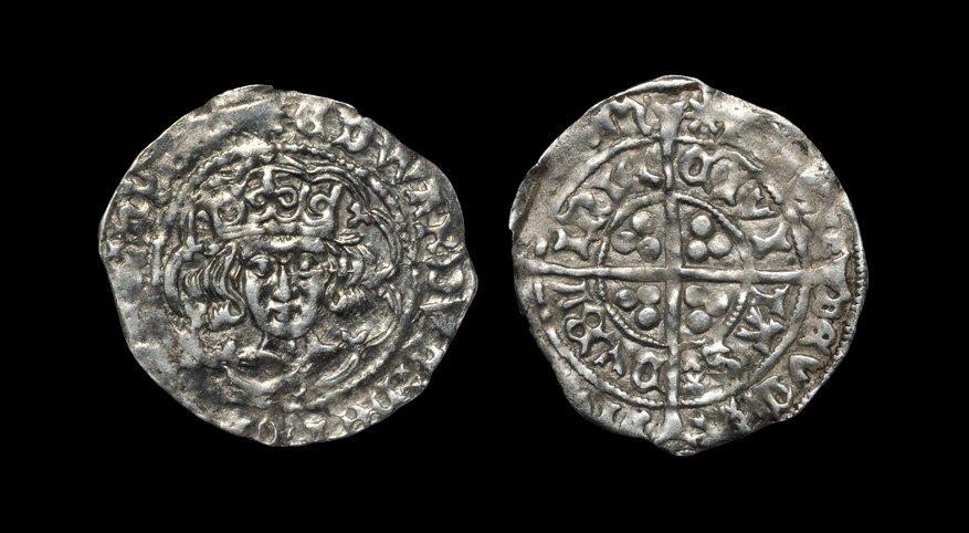 Irish Medieval Hammered Coins - Edward IV - Dublin -