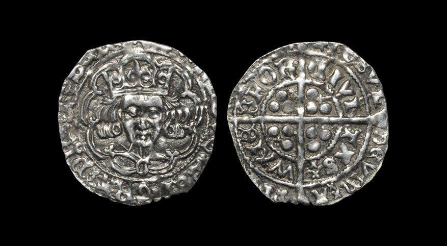 Irish Medieval Hammered Coins - Edward IV - Waterford -