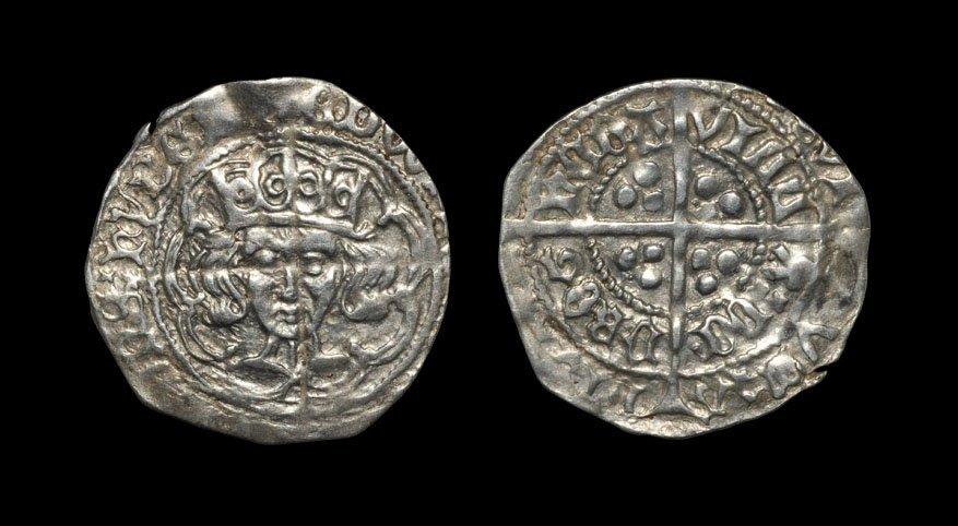 Irish Medieval Hammered Coins - Edward IV - Drogheda -