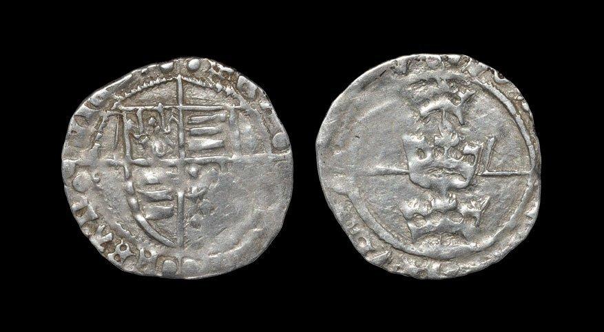Irish Tudor Hammered Coins - Henry VII - Dublin - Three