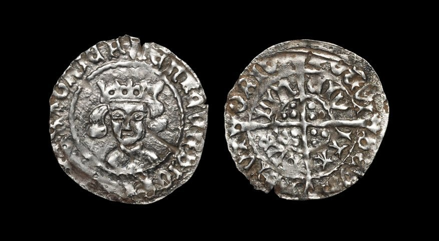 Irish Tudor Hammered Coins - Henry VII - Dublin - Long