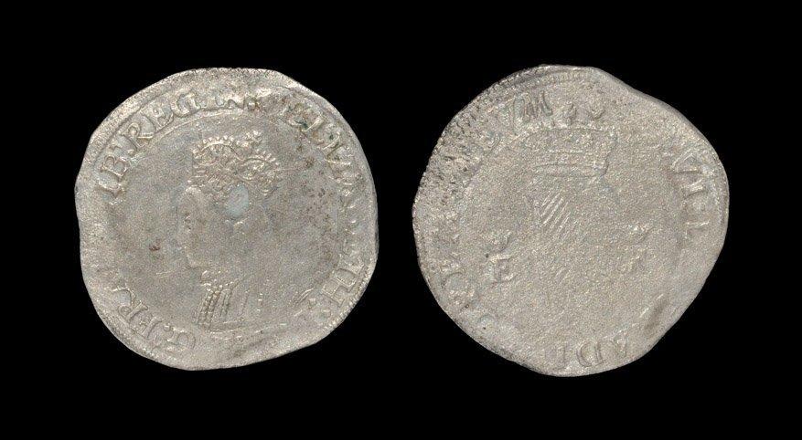 Irish Tudor Hammered Coins - Ireland - Elizabeth I -