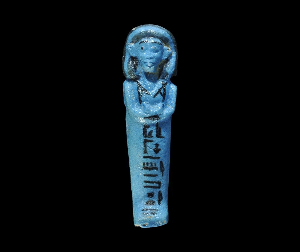 Egyptian Glazed Composition 'Priest of Amun'