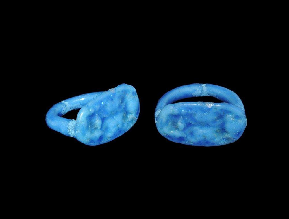Egyptian Signet Ring Bearing Cartouche of Amen(hotep)