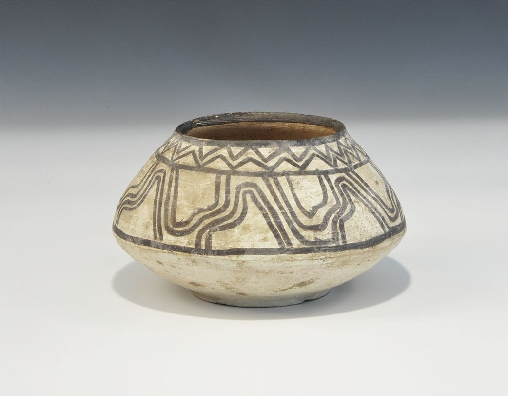 Indus Valley Painted Ceramic Bowl
