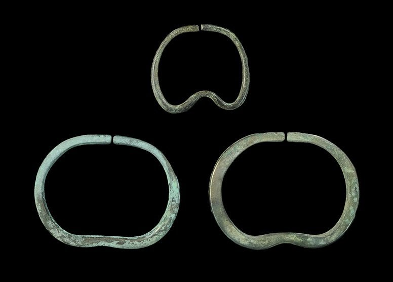 Bronze Age Bronze Bangle and Bracelet Group