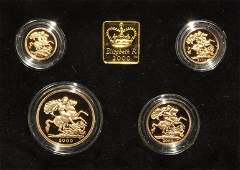 English Milled Coins  Elizabeth II  2000  Millennium