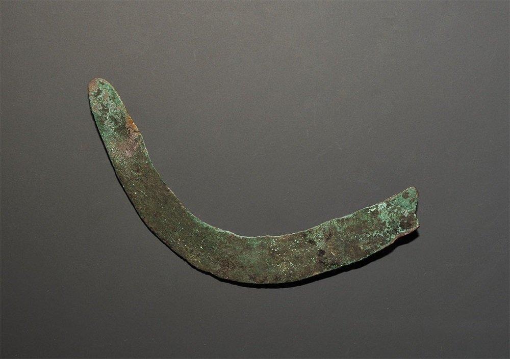 Bronze Age Bronze Sickle