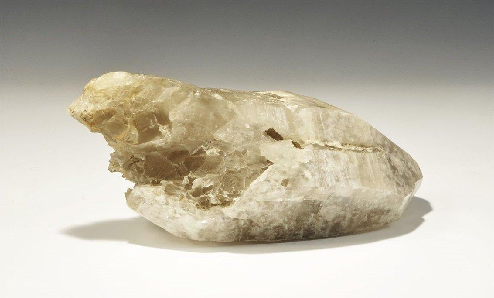 Geological Large Natural Quartz Crystal