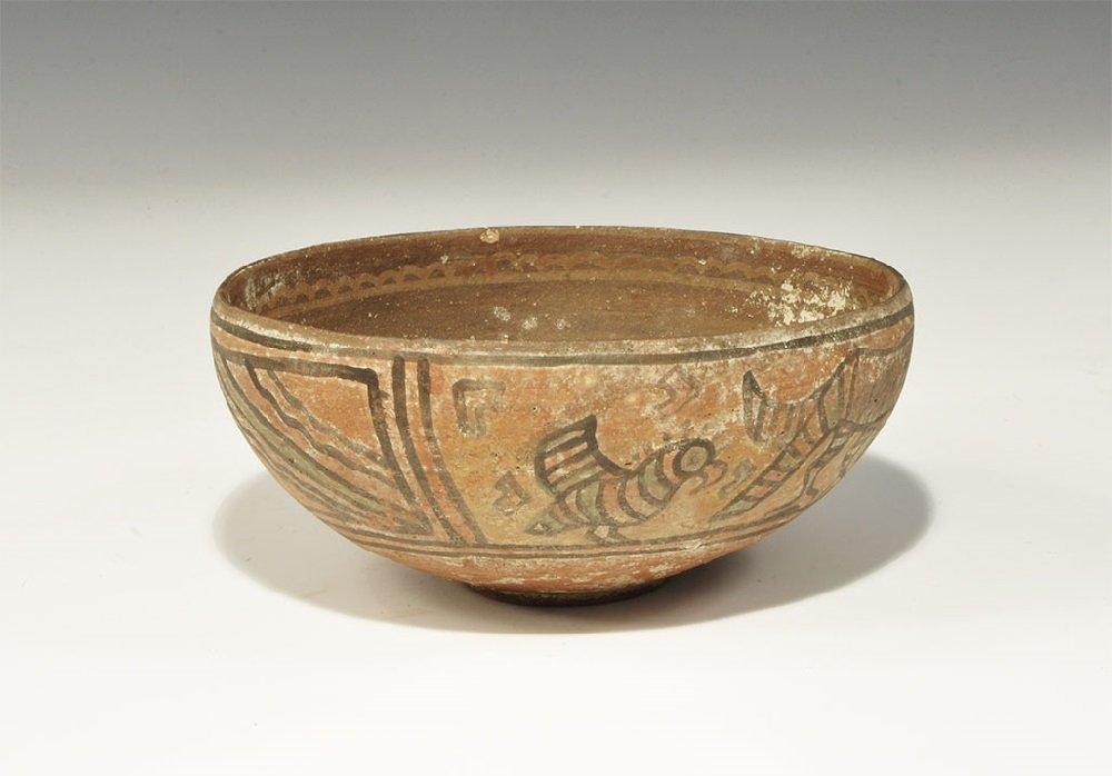 Indus Valley Ceramic Painted Bowl