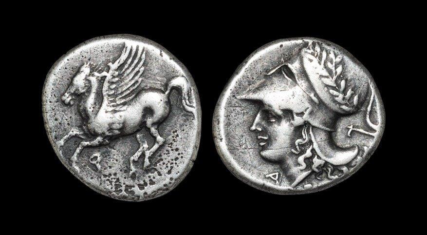 Ancient Greek Coins - Corinth - Pegasus Stater