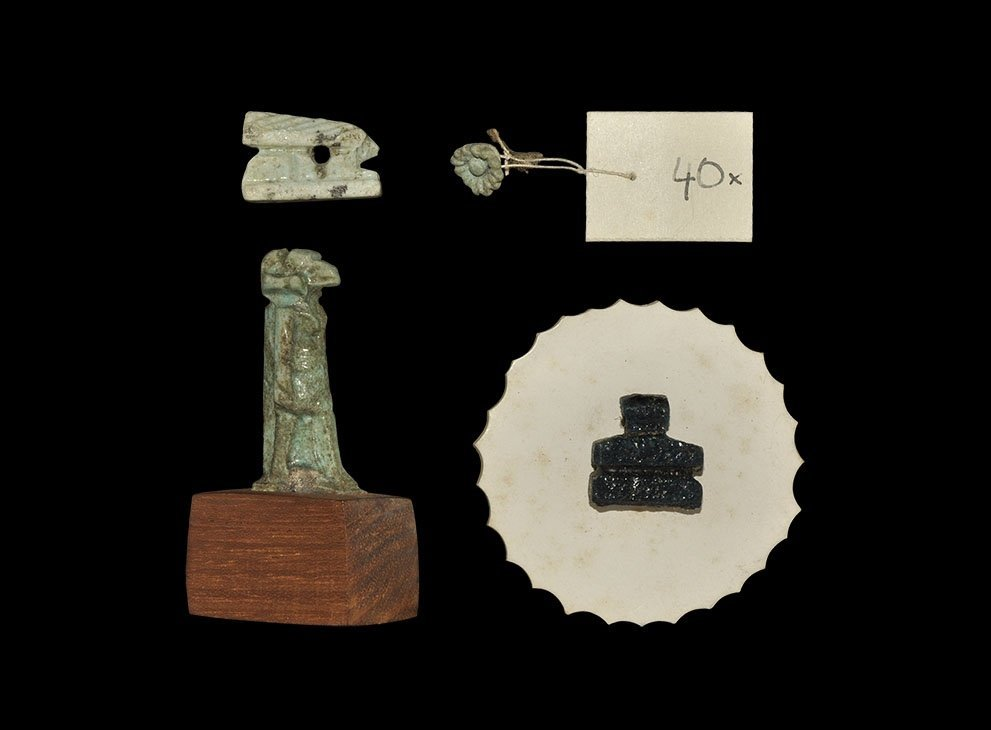 Egyptian Collings Collection Amulet Group