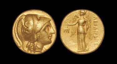 Ancient Greek Coins - Macedonia - Alexander III - Gold