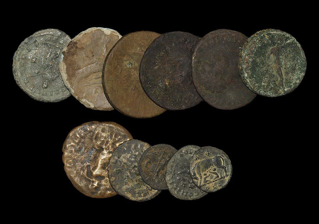 Ancient Roman Imperial Coins - Mixed Bronzes Group [11]