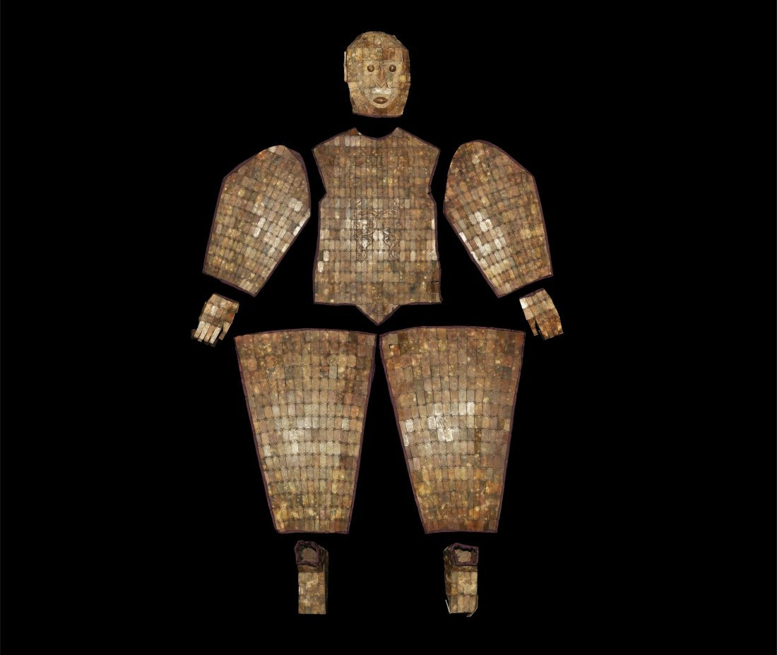 Chinese Warrior's 'Jade' Entombment Suit