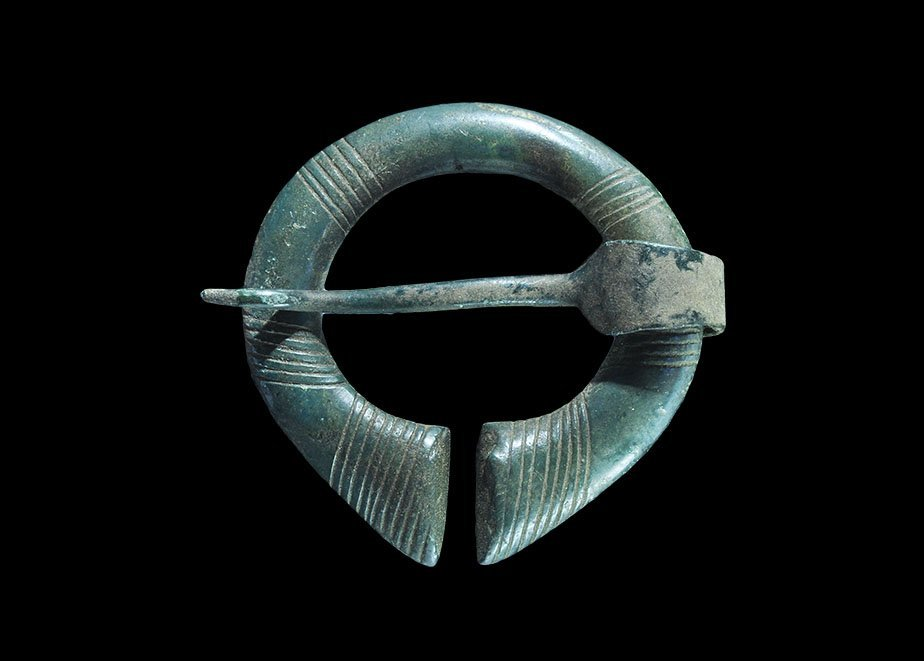 Viking Penannular Brooch