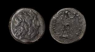 Ancient Greek Coins - Egypt - Ptolemy III Philopator -