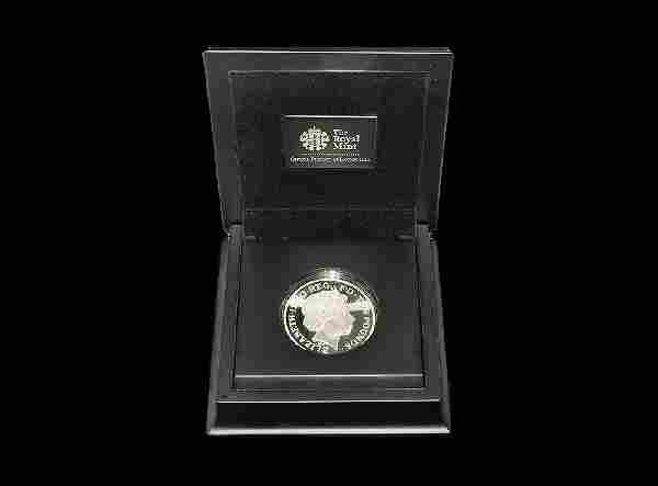 English Milled Coins - 2012 - Cased Royal Mint Olympic