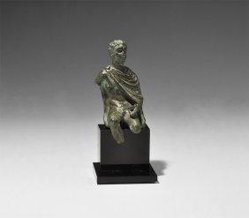 Greek Syrian King Statuette