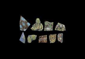 Egyptian Mosaic Fragment Group