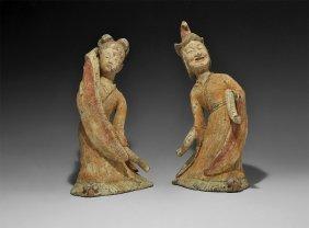 Chinese Dancer Pair