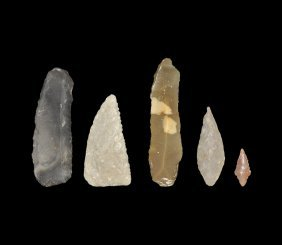 Stone Age Implement And Arrowhead Group