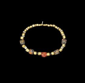 Viking Age Bead Necklace String
