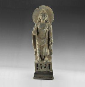 Gandharan Standing Buddha Figure