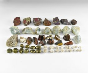 Natural History - Selection Of Mineral Specimens